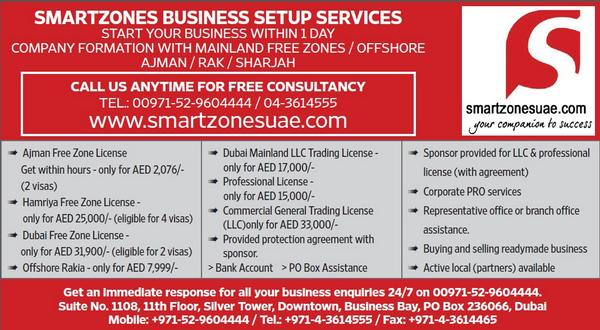 Smartzones UAE - Business Set-up and Consulting Services