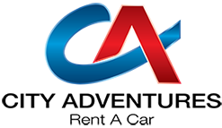 City Adventures Rent a Car LLC Logo