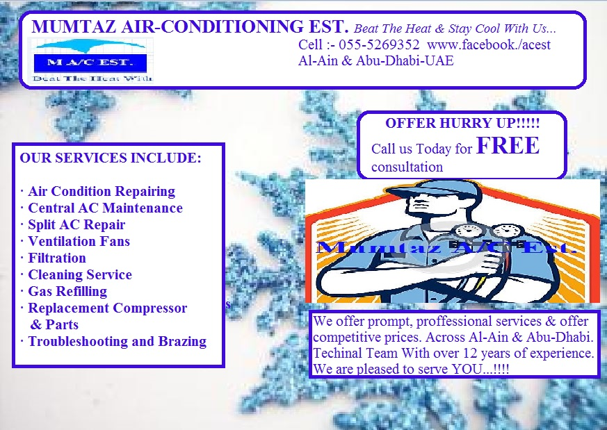 Mumtaz Air-Conditioning Est  - Ducted - Al Ain Industrial