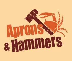 Aprons & Hammers - Dubai International Marine Club Logo
