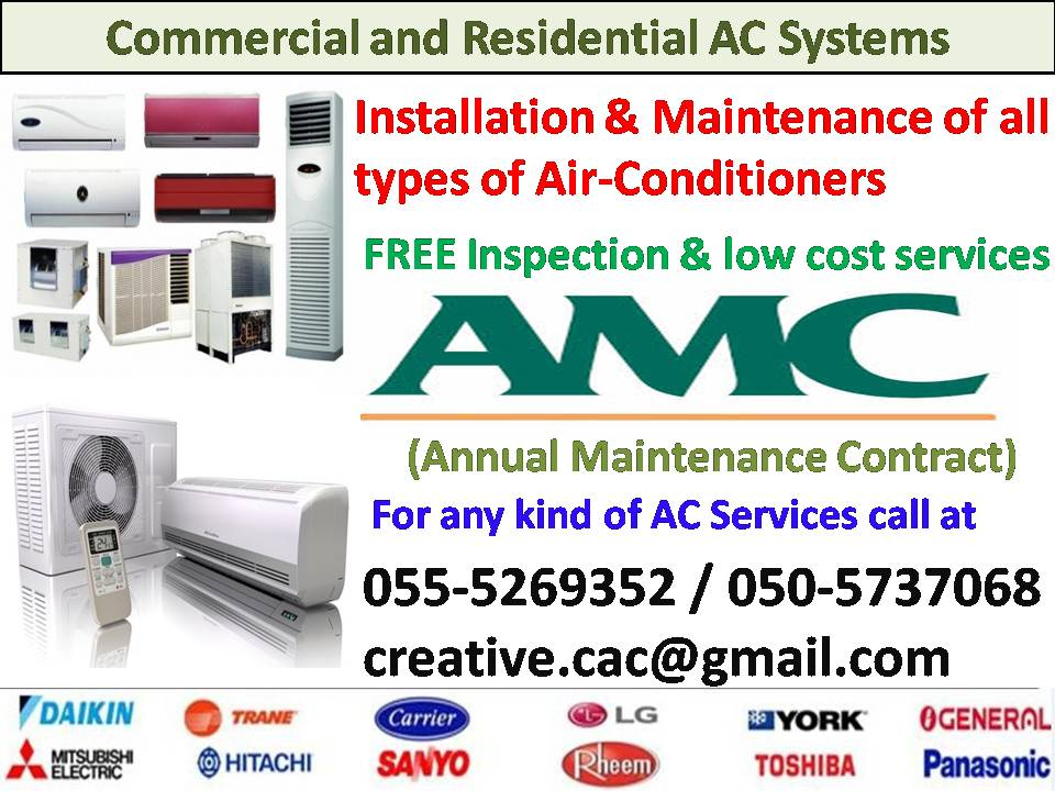 Creative Air Conditioning Maintenance & Ducting HVAC Contractors
