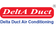 Delta Duct Air Conditioning Logo